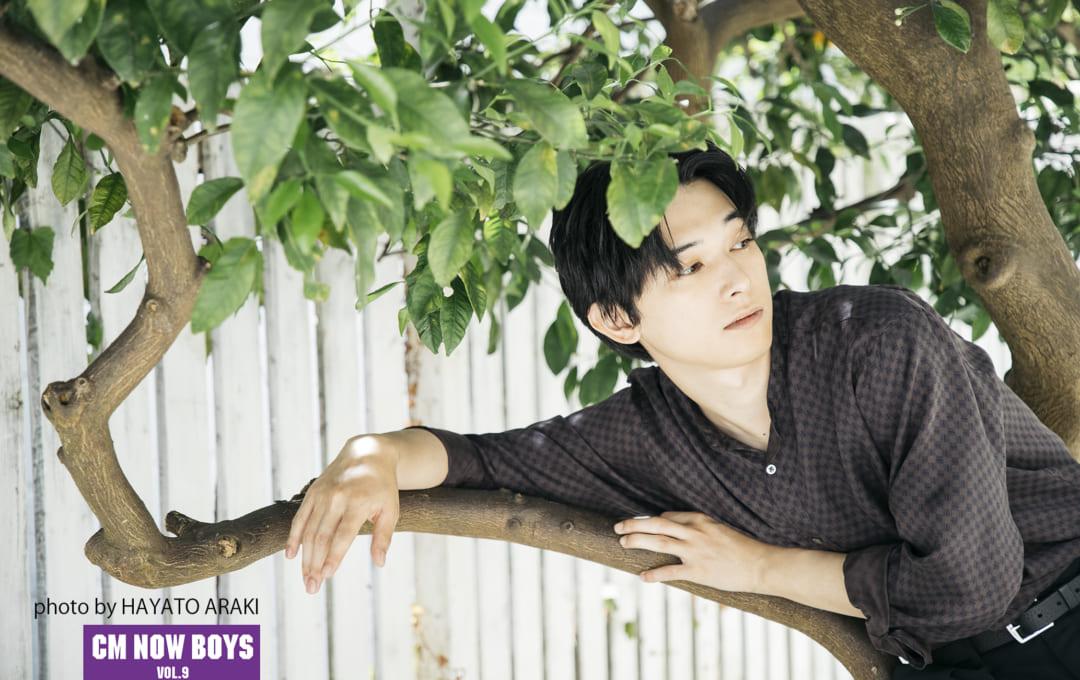 吉沢亮「CM NOW BOYS VOL.9」アザーカット&こぼれ話