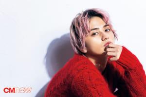 瀬戸利樹さんが見納めのピンク髪で本日発売CMNOW vol.201に登場!風太~!!!そんなに見つめないで!